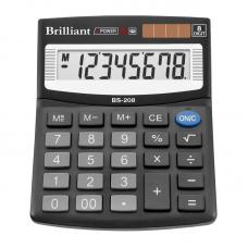 Калькулятор BS-208  8р., 2-пит