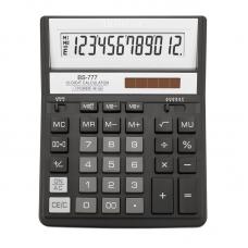 Калькулятор BS-777ВК 12р., 2-пит, черный