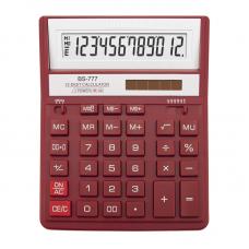Калькулятор BS-777RD 12р., 2-пит, красный