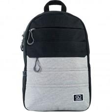 Рюкзак GoPack Сity 118-2 черный, серый