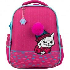 Рюкзак GoPack Education полукаркасный 165-2 Cute cat