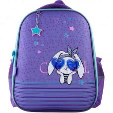 Рюкзак GoPack Education полукаркасный 165-3 Cool bunny
