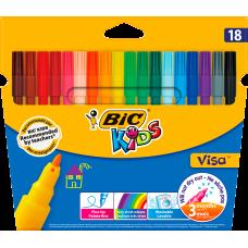 """Фломастеры """"Kids Visa 880"""", 18 цветов"""