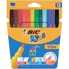 """Фломастеры """"Kids Visa 880"""", 12 цветов"""