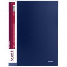 Дисплей-книга 10 файлов, синяя