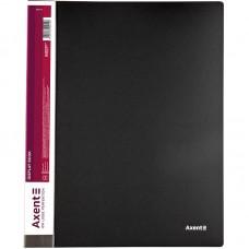 Дисплей-книга 20 файлов, черная