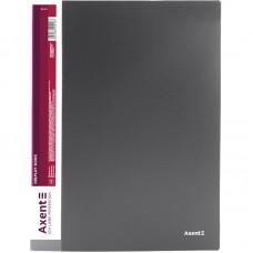 Дисплей-книга 20 файлов, серая