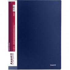 Дисплей-книга 30 файлов, синяя
