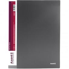 Дисплей-книга 30 файлов, серая