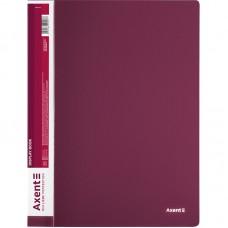 Дисплей-книга 60 файлов, бордовая