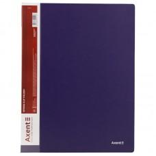 Папка-скоросшиватель А4, синяя