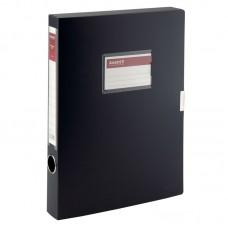 Папка-коробка, 36 мм, черная