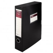 Папка-коробка, 60 мм, черная