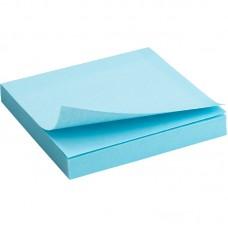 Блок бумаги с липким слоем 75x75 мм, 100 л., син