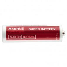 Батарейки AXENT АА R6 1.5V, 4 шт. (солевые)