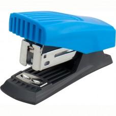 Степлер Shell пласт., №24/6, 12 л., голубой