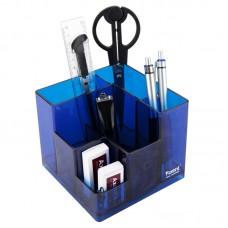 Набор настольный Cube, в коробке, синий