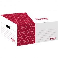 Короб для боксов архивных, красный