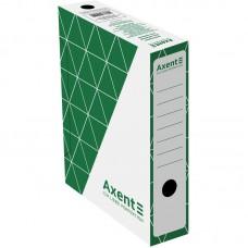 Бокс архивный 80 мм, зеленый