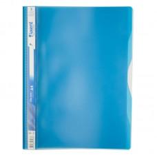 Скоросшиватель, 5 отделений, А4, голубой