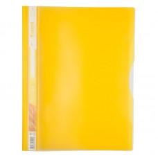 Скоросшиватель, 5 отделений, А4, желтый