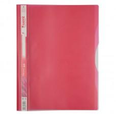 Скоросшиватель, 5 отделений, А4, розовый
