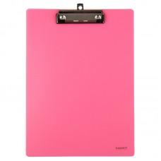 Планшет пластиковый, А4, розовый