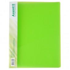 Папка-скоросшиватель А4, прозрачная зеленая