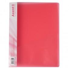 Папка-скоросшиватель А4, прозрачная красная