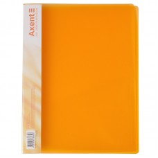 Папка-скоросшиватель А4, прозрачная оранжевая