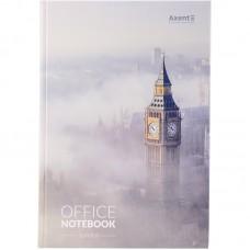 Книга записная А4, 192 л., клет., London