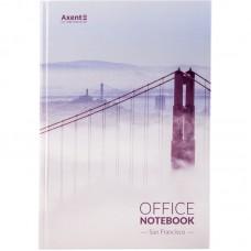 Книга записная А4, 192 л., клет., San Francisco