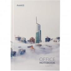 Книга записная А4, 192 л., клет., Dubai