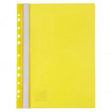 Скоросшиватель с перфорацией А4, желтый