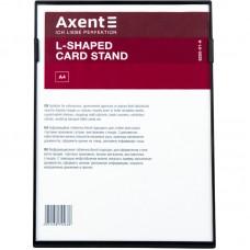 Табличка информационная L-образная, A4, черная
