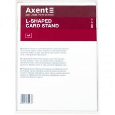 Табличка информационная L-образная, A4, белая