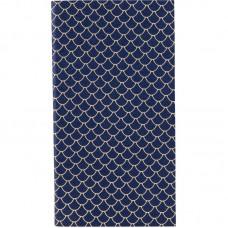 Блокнот мягкая PU обл., 90*160 мм, 48 л., Scale, синий