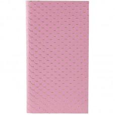 Блокнот мягкая PU обл., 90*160 мм, 48 л., Scale, розовый