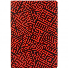 Блокнот двустор. А5, 128 л., точ./нелин., The Runes, красный