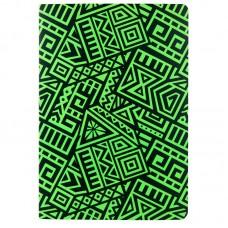 Блокнот двустор. А5, 128 л., точ./нелин., The Runes, салатов