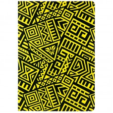 Блокнот двустор. А5, 128 л., точ./нелин., The Runes, жёлтый
