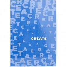 Книга записная А4 Pastelini, 96 л., кл., голубая