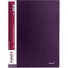 Дисплей-книга 10 файлов, сливовая