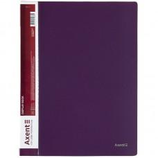 Дисплей-книга 30 файлов, сливовая