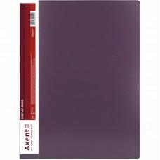 Дисплей-книга 100 файлов, сливовая