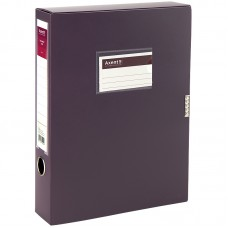 Папка-коробка, 60 мм, сливовая