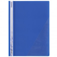Скоросшиватель с угловым карманом, синий