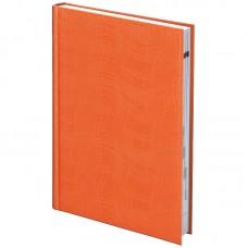 Ежедневник недат Агенда Wave оранжевый