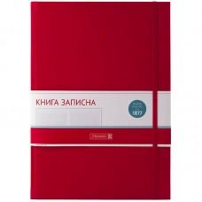 Книга записная Melissa красный А4 клетка