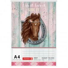Альбом для рисования Ponylove  А4 100 лист. 70 г/м2